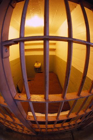 Prison Cell on Alcatraz
