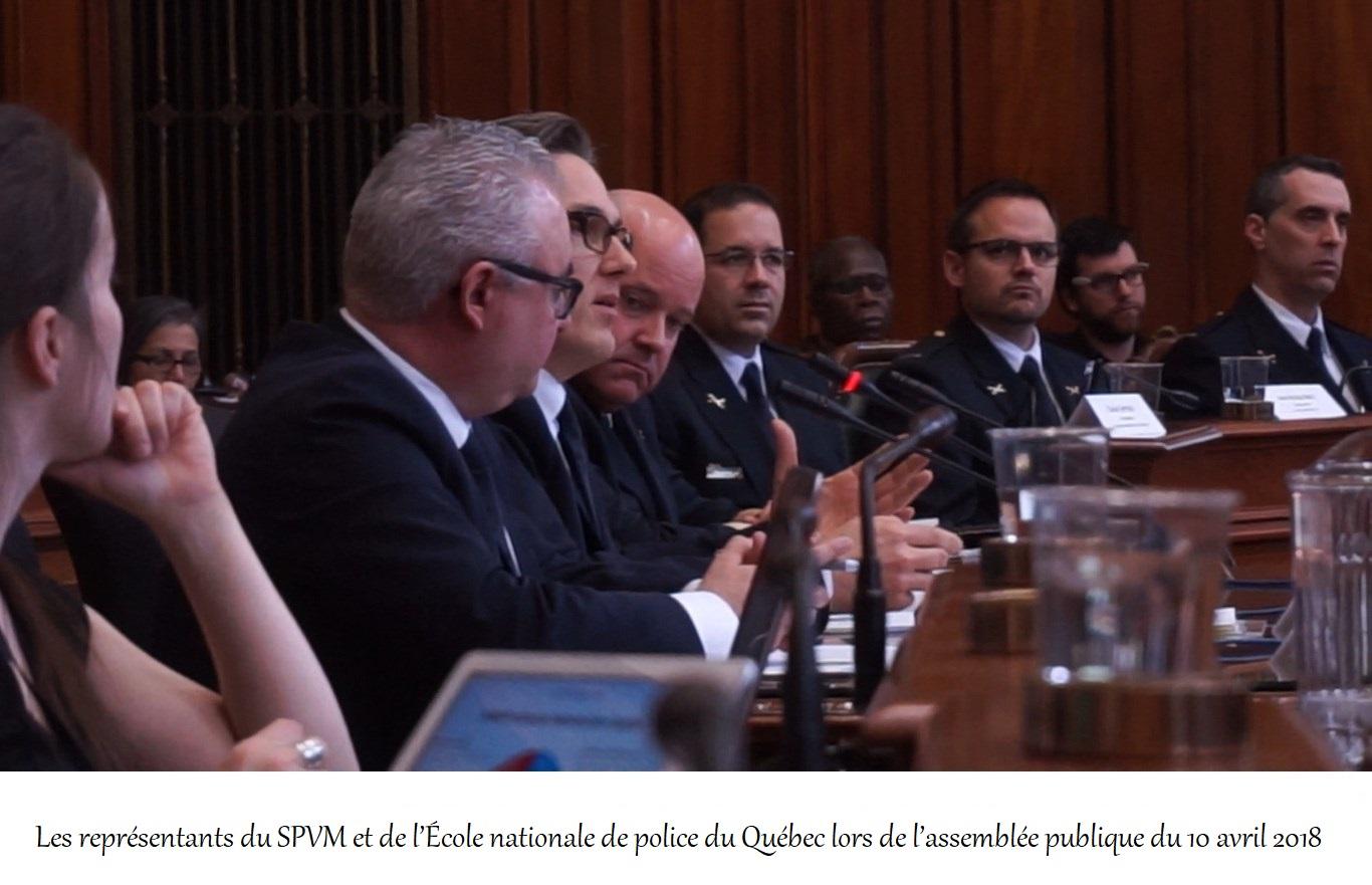 Est-ce que la commission sur la sécurité publique tente d'induire la population en erreur ?